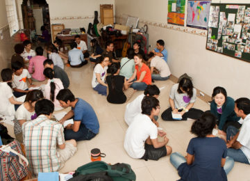 How gospel partnership around the world supports Cambodian Christian students